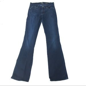 7 For All Mankind Kimmie Bootcut Jeans Size 28